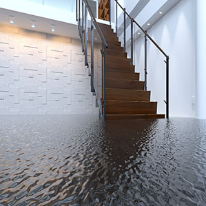 Office flooded